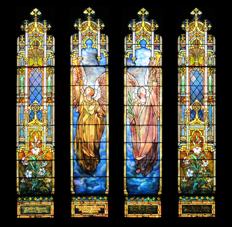 Tiffany Resurrection Window - Large